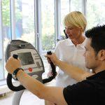 persönliche Betreuung bei fitness-konzept